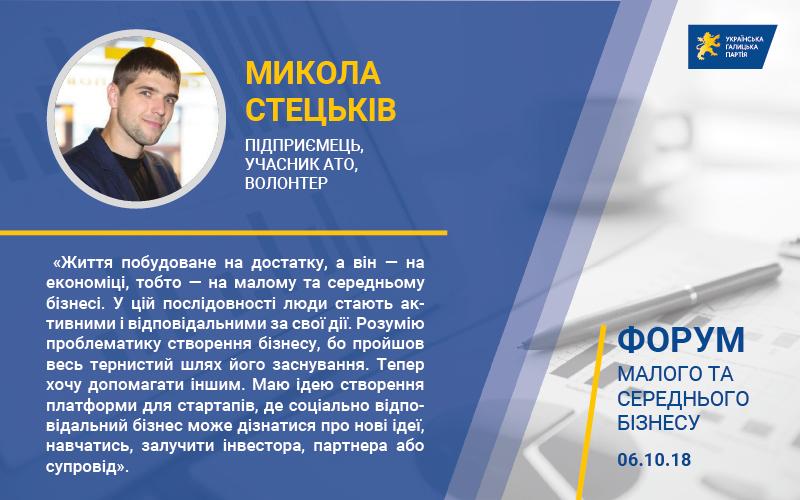 Микола Стецьків